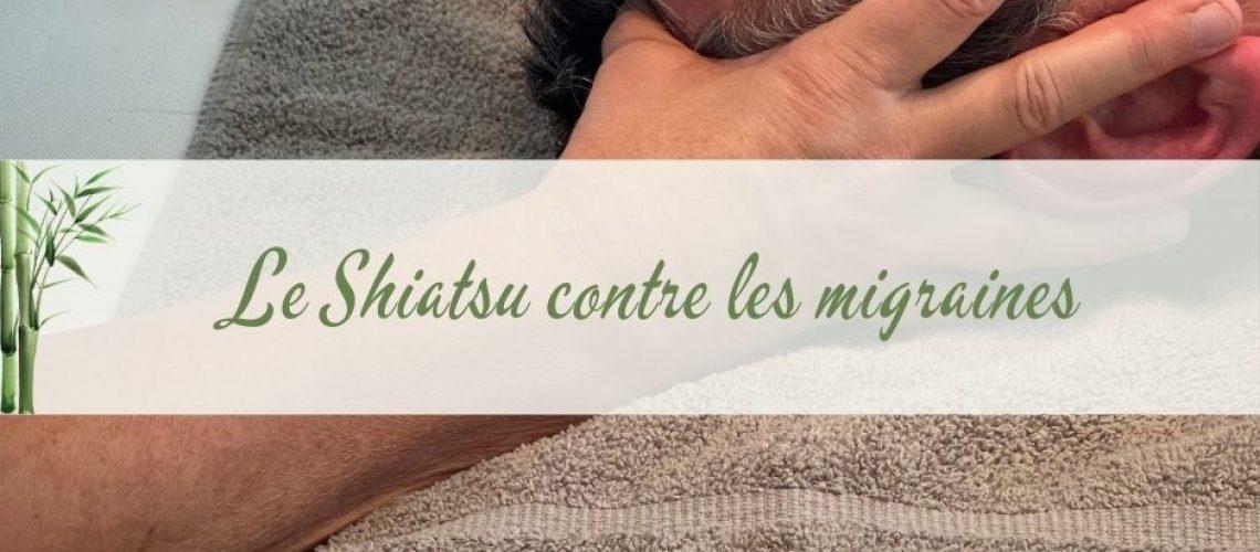 massage pour soulager les migraines grace au Shiatsu